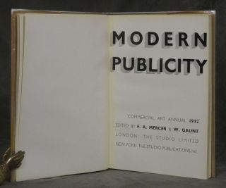 Modern Publicity: Commercial Art Annual 1932