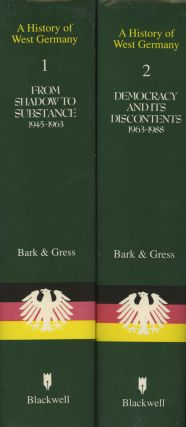 A History of West Germany, in 2 volumes -- Volume...