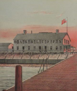 The First Hotel Erected by the Oak Bluffs Land &...