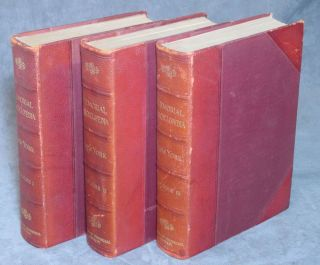 Memorial Encyclopedia of the State of New York, complete set in 3 volumes. Charles Elliott Fitch