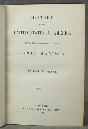 History of the United States of America during The Second...