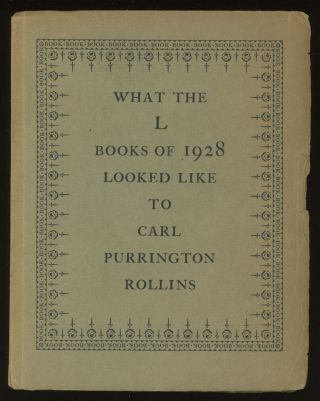What the L Books of 1928 Looked Like to Carl...