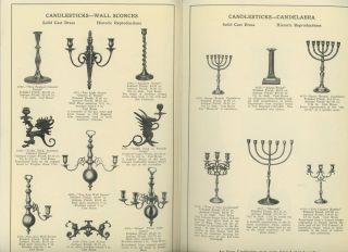 Fine Candlesticks, Door Knockers, Book Ends and other useful ornamental...
