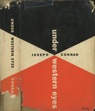 Under Western Eyes (New Directions, New Classics 33). Joseph Conrad, dust jacket Alvin Lustig