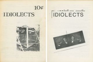 Idiolects: the first 2 issues (#1, June to August 1976...