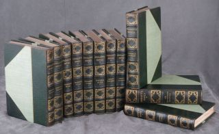 The Novels of Tobias Smollett, Large Paper Edition, complete in 11 volumes -- number 108 of 500...