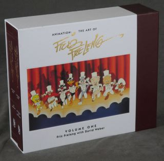 Animation: The Art of Friz Freleng, Volume 1 -- 1/4000 copies with signed hologram