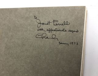 A Computer Perspective -- inscribed by Charles Eames