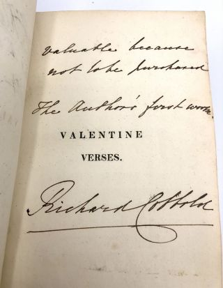 Valentine Verses; or, Lines of truth, Love and Virtue