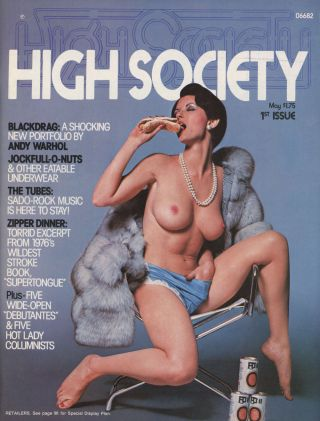 High Society, May 1976 (Premiere Issue, Volume 1, Number 1)