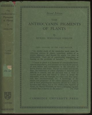 The Anthocyanin Pigments of Plants, second edition