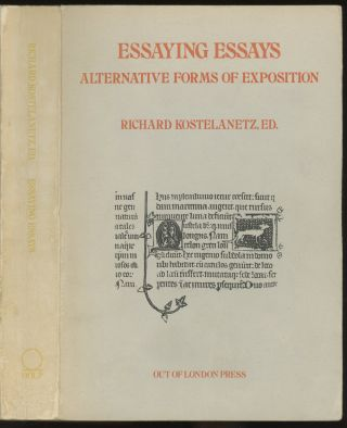Essaying Essays: Alternative Forms of Exposition