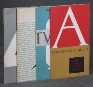 A Typographic Quest, the first 4 issues -- 1. Premier...