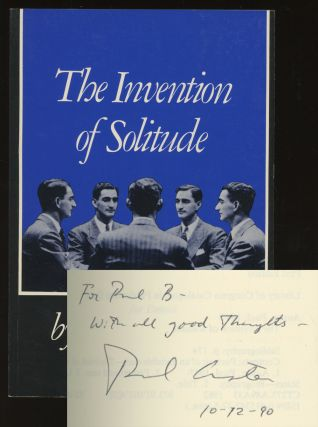 The Invention of Solitude