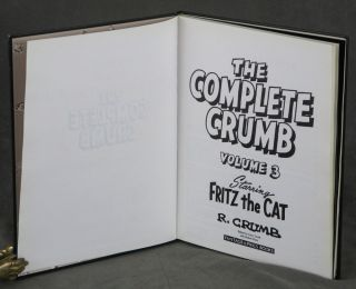 The Complete Crumb -- complete set in 17 volumes, of...