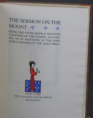 The Sermon on the Mount: Being the Fifth, Sixth and...
