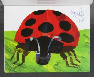 The World of Eric Carle: A Portfolio of Prints -- signed by the author. Eric Carle