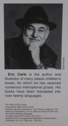The World of Eric Carle: A Portfolio of Prints -- signed by the author