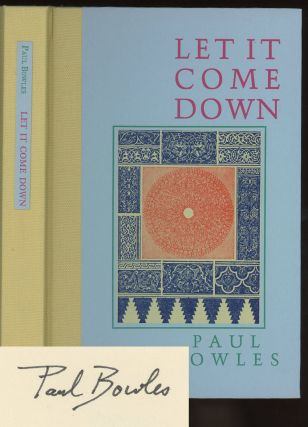 Let it Come Down -- 1/350 signed copies
