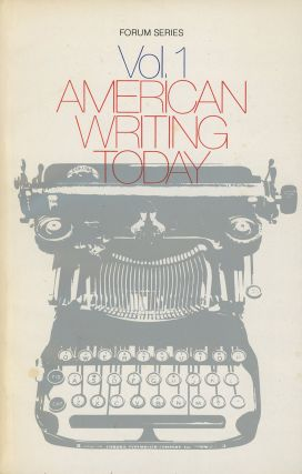 American Writing Today, Volume 1