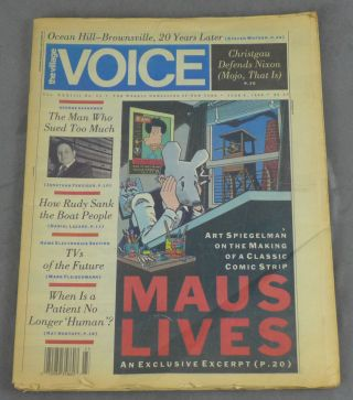 The Village Voice, June 6, 1989 -- Excerpt from Maus