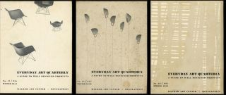 3 issues of Everyday Art Quarterly: A Guide to Well...