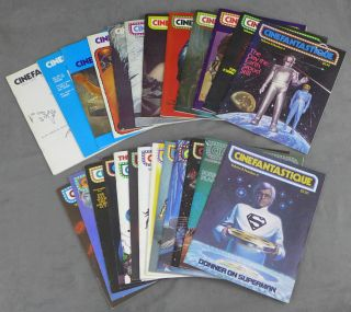 Cinefantastique, 26 early issues, including 19 of the first 20 -- Volume 1 Numbers 1-4 // Volume...