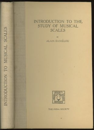 Introduction To The Study of Musical Scales -- inscribed by the author to Lin Yutang