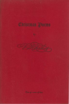 Assorted Christmas Poems, First of a Series of Three. Victor M. Rubert