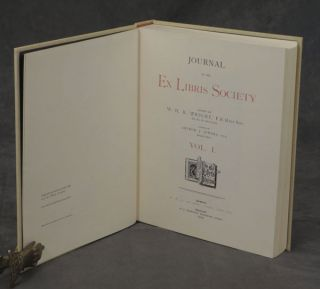 Journal of the Ex Libris Society: Volumes I-XVIII (Complete set in nine volumes)