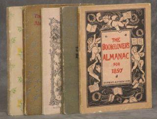 The Booklovers' Almanac 1893-1897 (Five volumes in decorative slipcase)