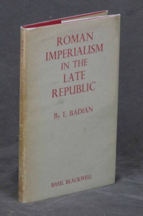 Roman Imperialism in the Late Republic