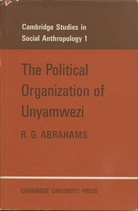 The Political Organization of Unyamwezi