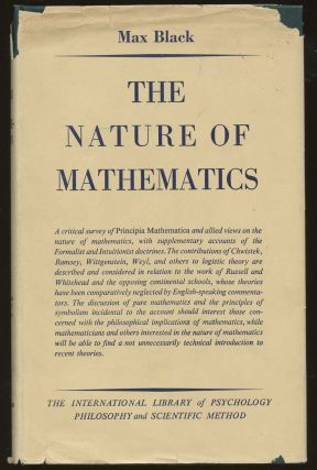 The Nature of Mathematics: A Critical Survey. Max Black
