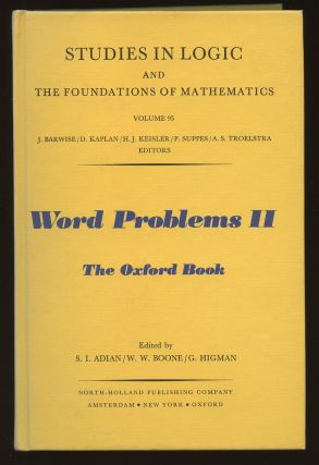 Word Problems II: The Oxford Book (Studies in Logic and...