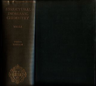 Structural Inorganic Chemistry. A. F. Wells