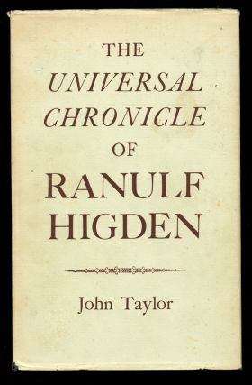 The Universal Chronicle of Ranulf Higden