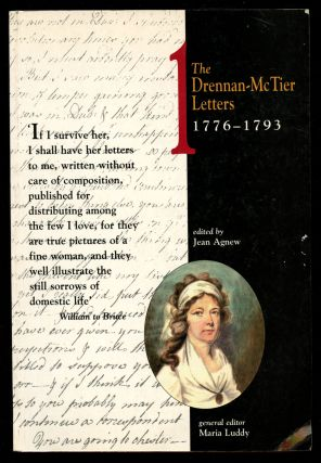 The Drennan-McTier Letters, 1776-1793: Volume 1 (This volume only)