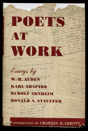 Poets at Work: Essays Based on the Modern Poetry Collection at the Lockwood Memorial Library,...