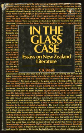 In The Glass Case: Essays on New Zealand Literature. C. K. Stead