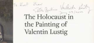 The Holocaust in the Painting of Valentin Lustig [Signed by Balas AND Lustig!]