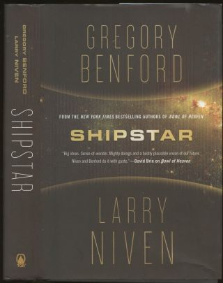 Shipstar [Signed by Benford!]. Gregory Benford, Larry Niven