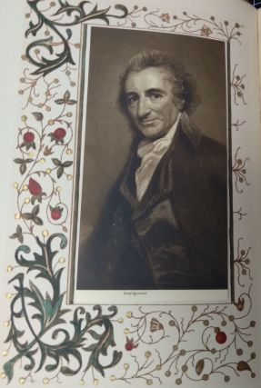 Life and Writings of Thomas Paine [De Luxe Continental Edition of the Centenary Issue of the Writings of Thomas Paine; Complete set volumes 1-10; numbered 40 of 200 sets; signed by editor Wheeler at frontis of first volume]