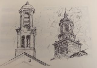 Mike's Book: A Sketchbook of Athens, Ohio