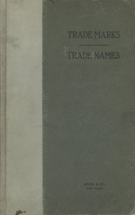 Trade Marks, Trade Names for the Business Man