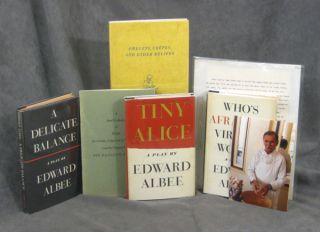 Items from the estate of Rudolph Stanish (1913-2008), celebrity chef, incl. inscribed Albee books...