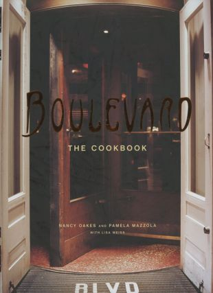 Boulevard - The Cookbook (SIGNED)
