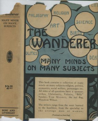 The Wanderer, or Many Minds on Many Subjects
