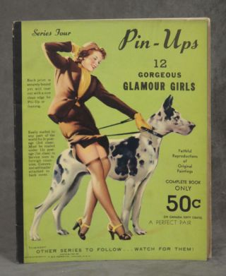 Pin-Ups: 12 Gorgeous Glamour Girls, Faithful Reproductions of Original Paintings. Series Four....