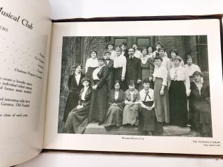 The Pennsylvanian 1915 - the first yearbook of the Pennsylvania College for Women / Chatham College, Pittsburgh PA